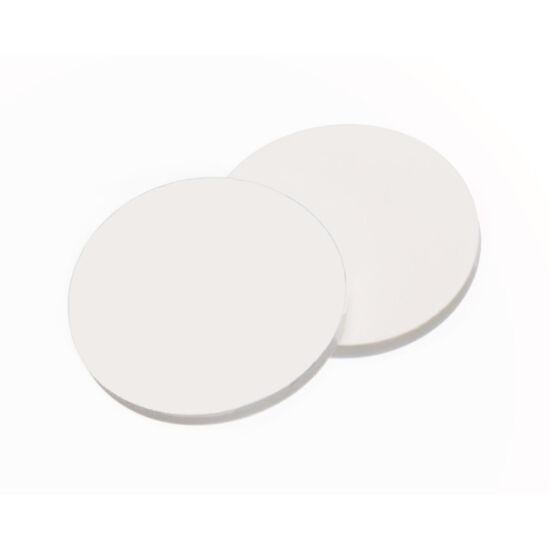 fehér PTFE/fehér szilikon szeptum
