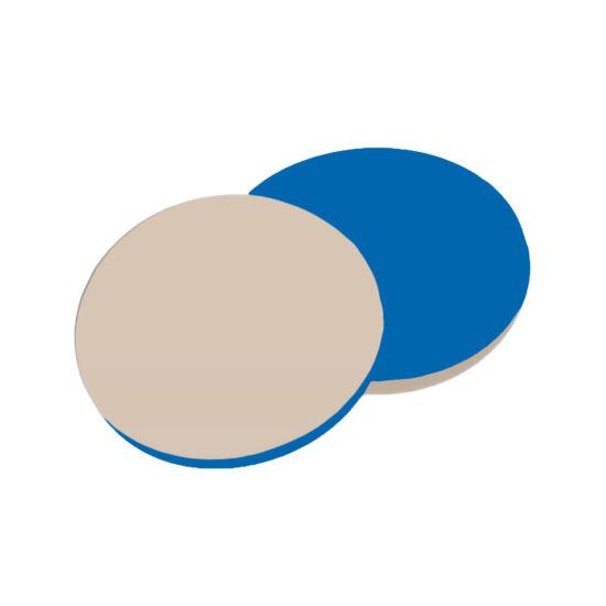 natúr PTFE/kék szilikon szeptum